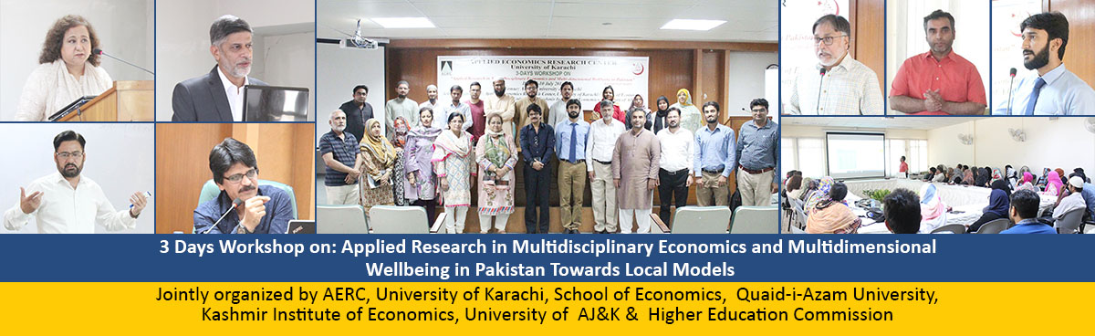 Applied Economics Research Centre - University of Karachi